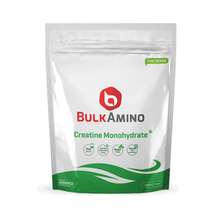 Advance Nutratech BulkAmino Creatine Monohydrate Powder Unflavoured