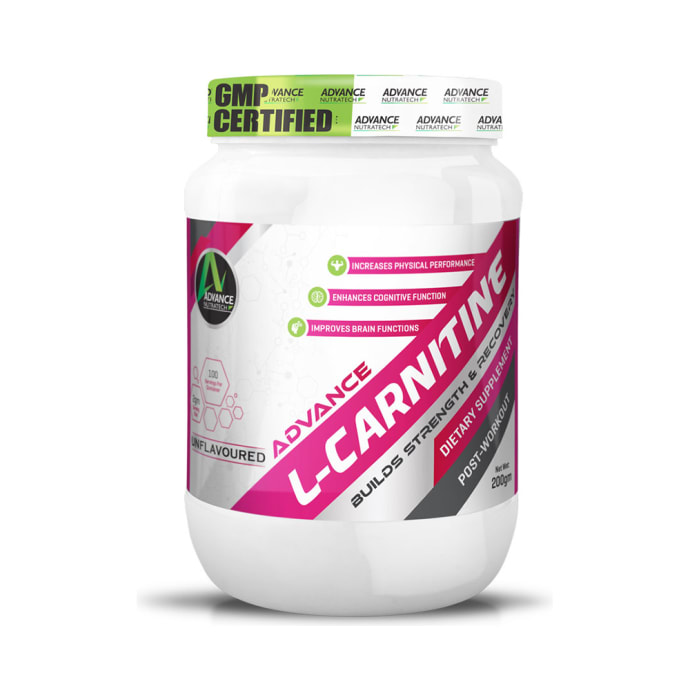 Advance Nutratech L-Carnitine Post-Workout Powder Unflavoured