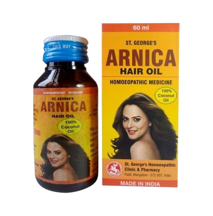 St. George's Arnica Coconut Hair Oil