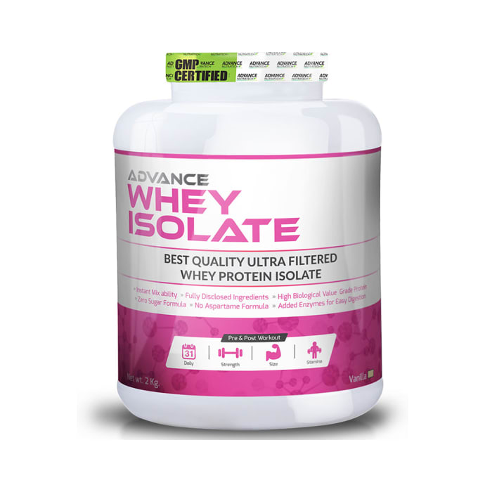 Advance Nutratech Whey Isolate Protein Powder Vanilla
