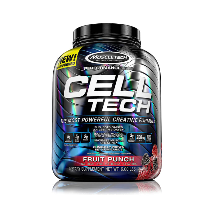 Muscletech Cell Tech Creatine Formula Fruit Punch