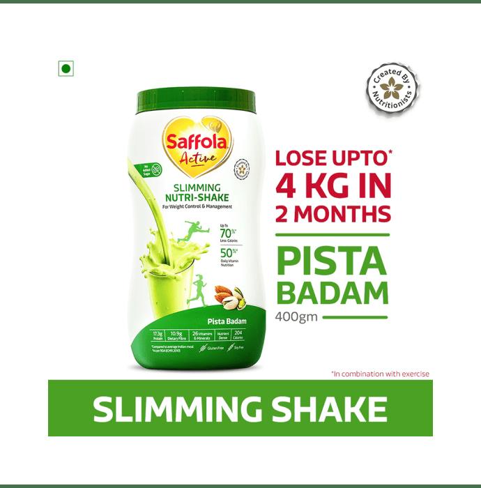 Saffola Active Slimming Nutri-Shake Pista Badam