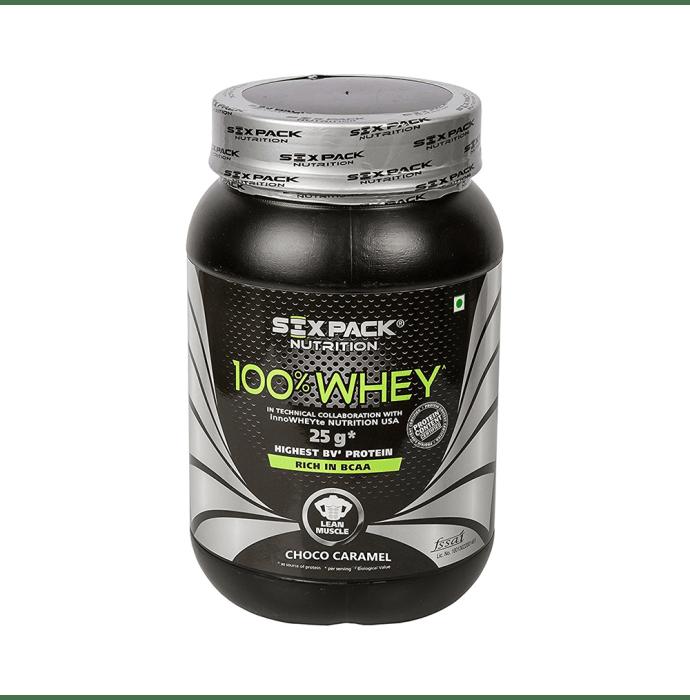 Sixpack Nutrition 100% Whey Choco Caramel