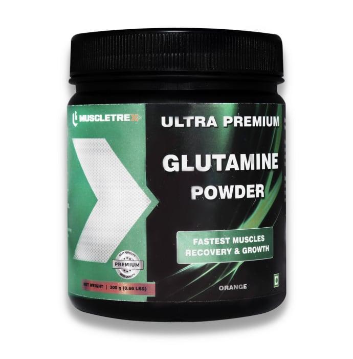 Muscletrex Glutamine Powder Orange