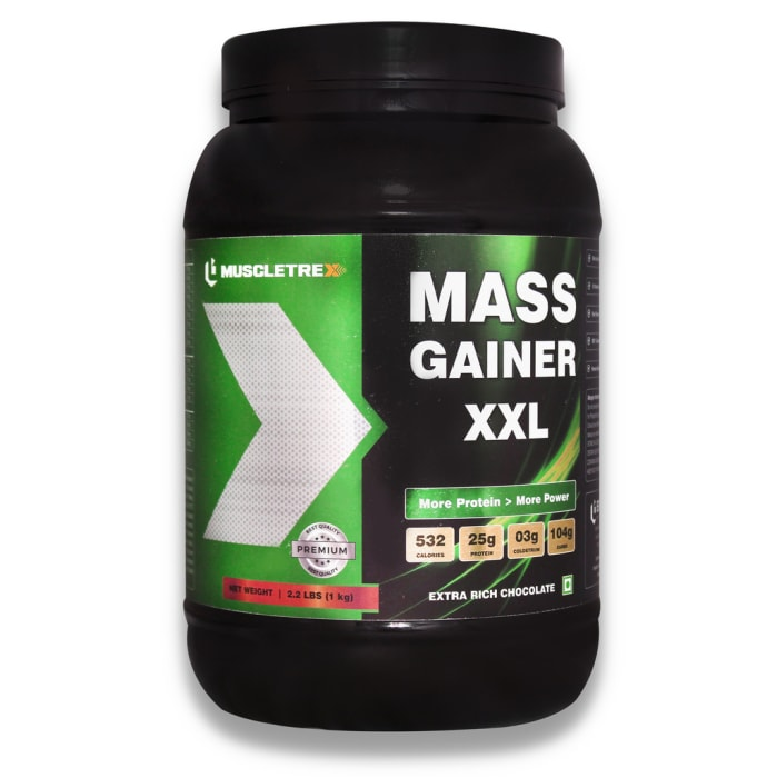 Muscletrex Mass Gainer XXL Extra Rich Chocolate