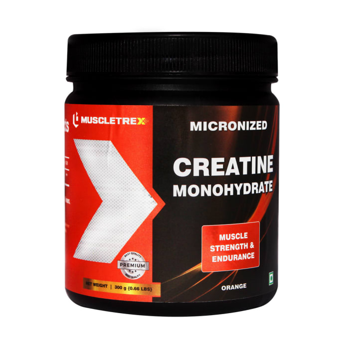 Muscletrex Micronized Creatine Monohydrate Orange