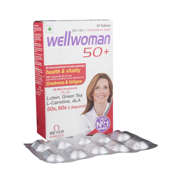 Wellwoman 50+ Tablet