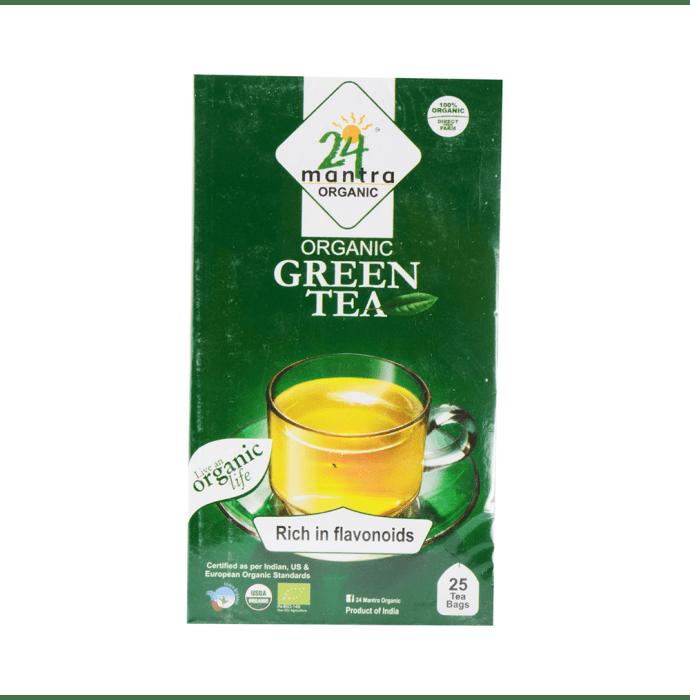 24 Mantra Organic Green Tea Bag