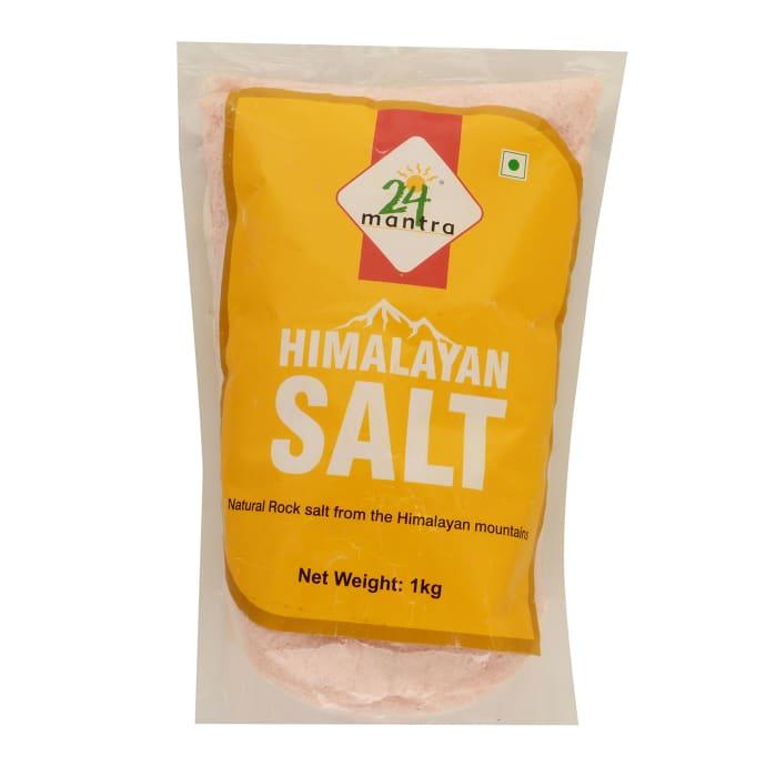 24 Mantra Organic Himalayan Rock Salt Pack of 2