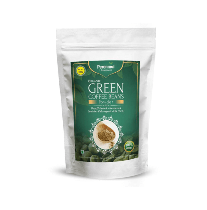 Perennial Lifesciences Organic Green Coffee Beans Powder