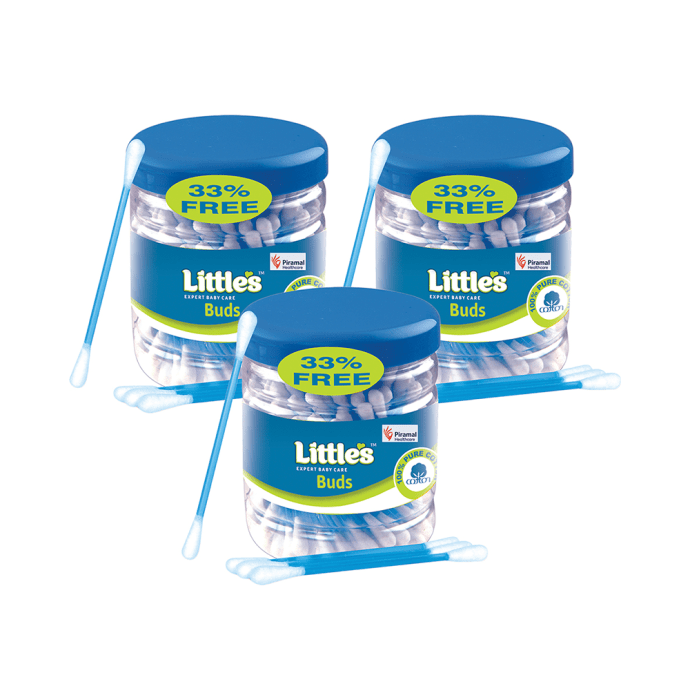 Little's Ear Buds Pack of 3