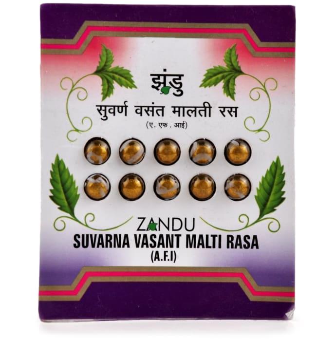 Zandu Vasant Malti Ras (Swarn Yukt) Tablet