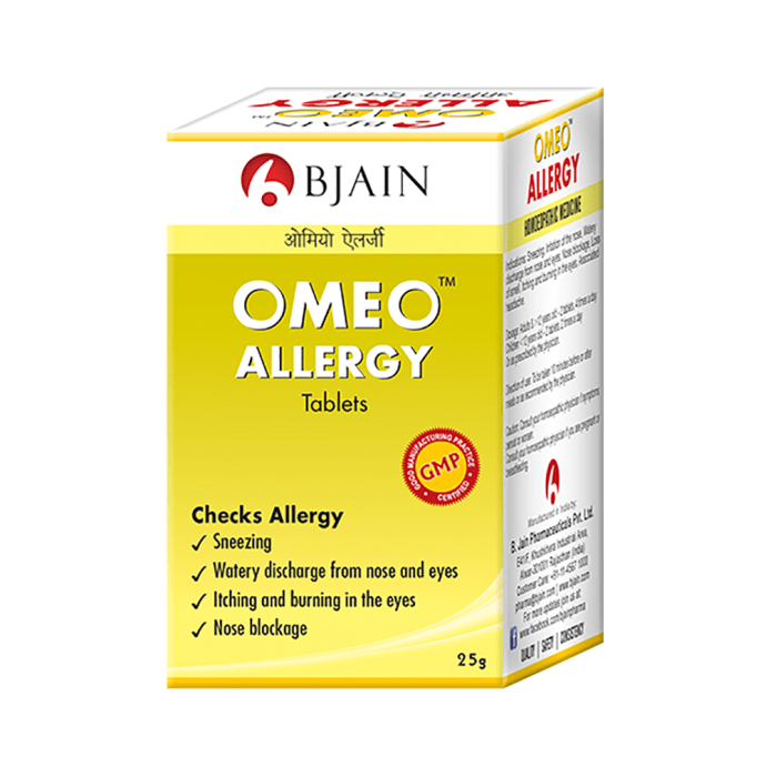 Bjain Omeo Allergy Tablet