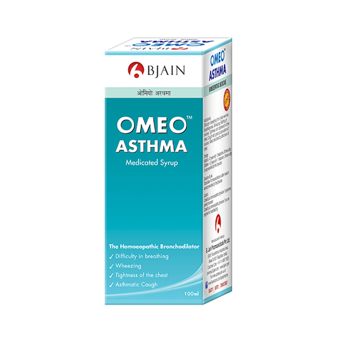 Bjain Omeo Asthma Syrup Pack of 2
