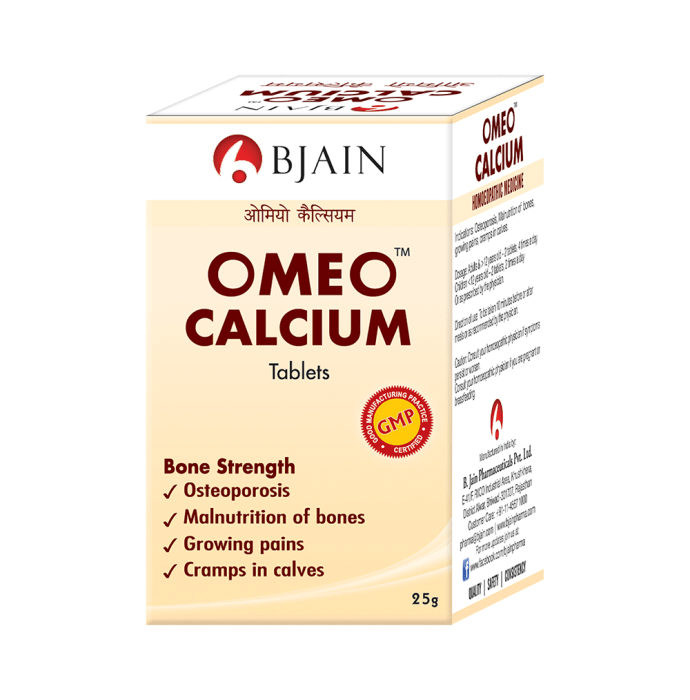 Bjain Omeo Calcium Tablet