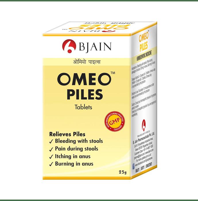 Bjain Omeo Piles Tablet
