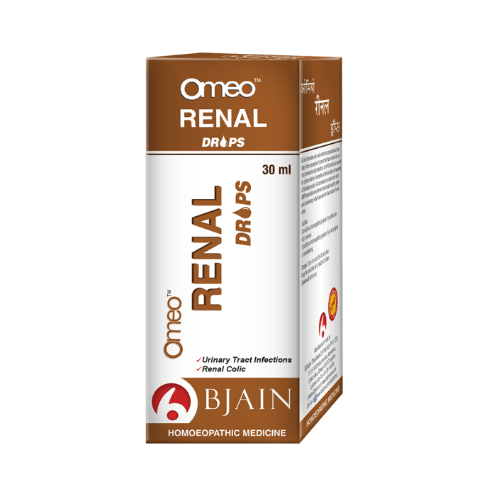Bjain Omeo Renal Drop
