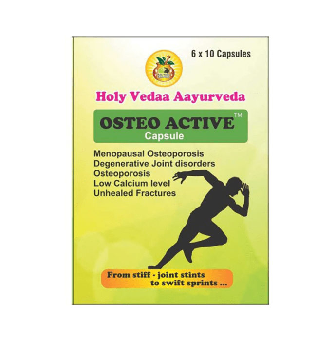 Holy Vedaa Aayurveda Osteo Active Capsule