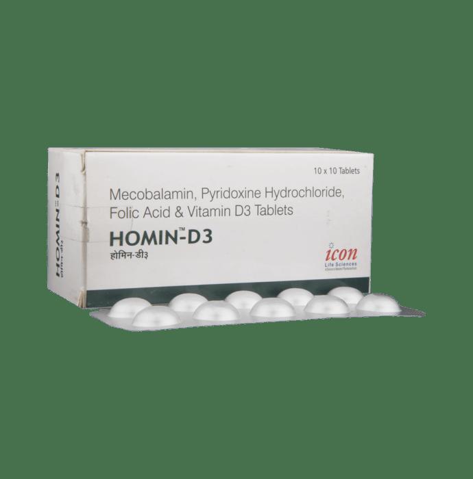 Homin-D3 Tablet