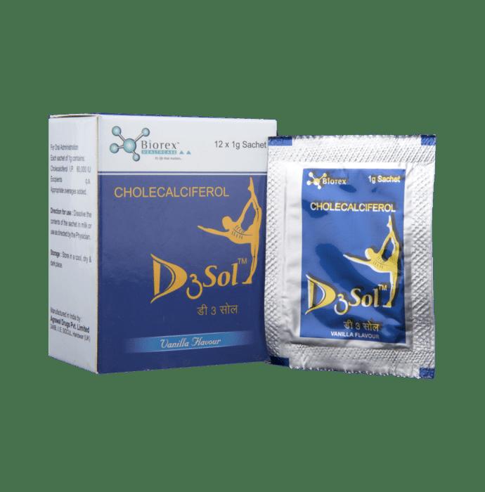 D3Sol Sachet Vanilla