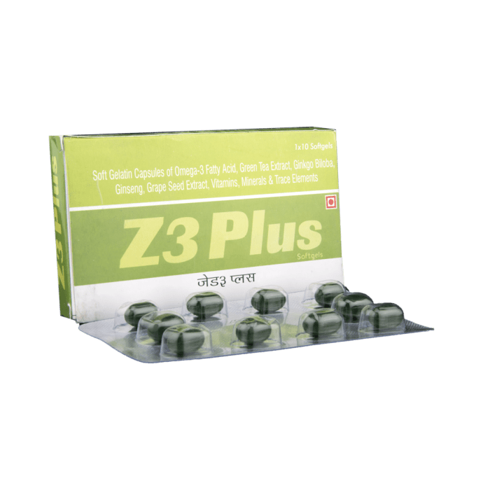 Z3 Plus Soft Gelatin Capsule