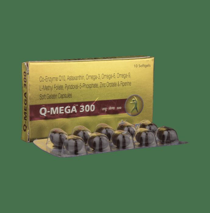 Q-Mega 300mg Capsule
