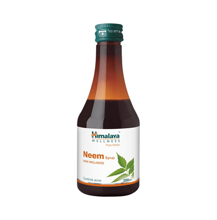 Himalaya Wellness Pure Herbs Neem Syrup