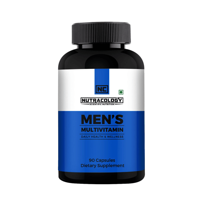 Nutracology Men's Multivitamin Capsule