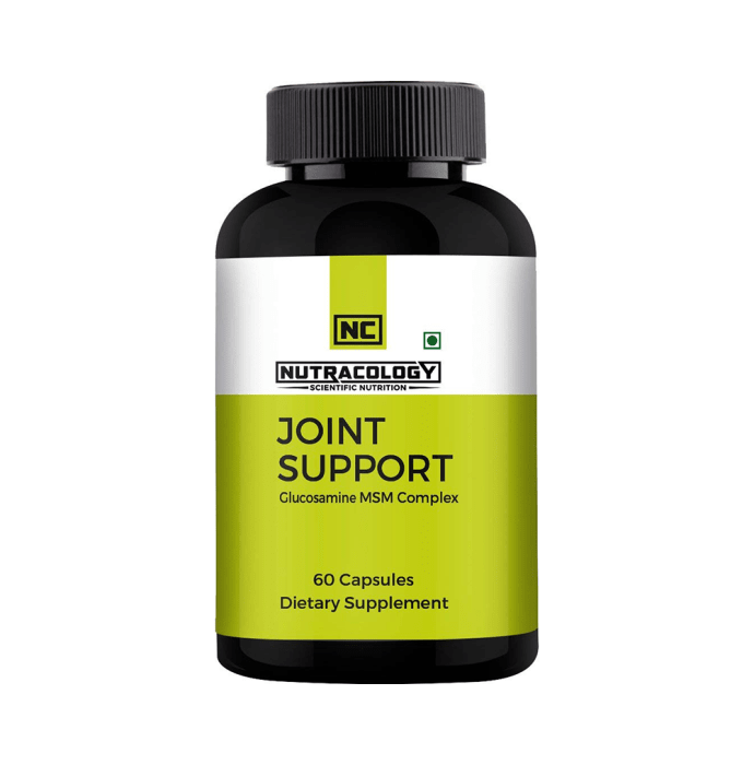 Nutracology Joint Support Glucosamine MSM complex Capsule