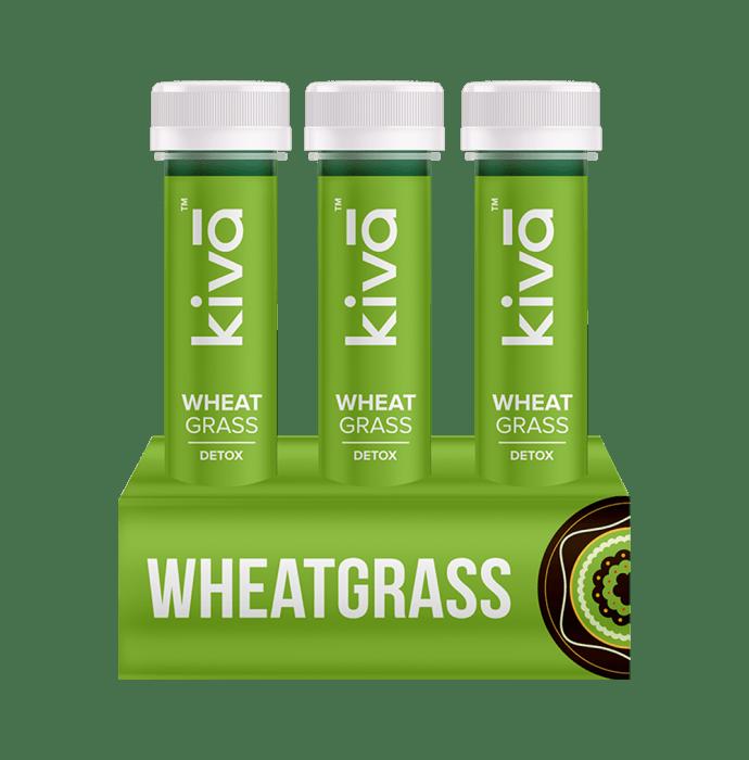 Kiva Wheat Grass Shot Pack of 6
