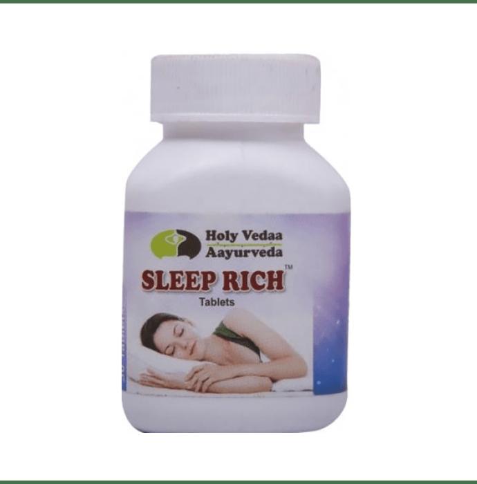 Holy Vedaa Aayurveda Sleep Rich Tablet