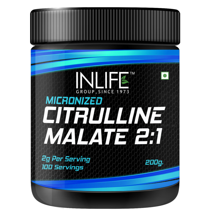 Inlife Micronized Citrulline Malate Powder 2:1 Supplement Unflavoured