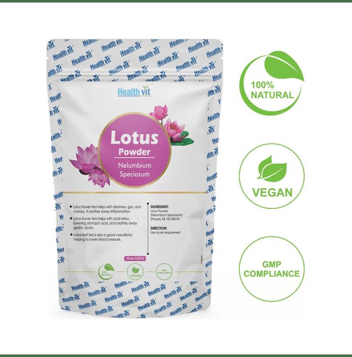 HealthVit Natural Lotus Powder