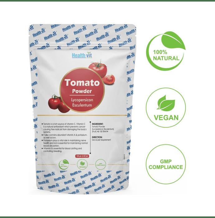 HealthVit Natural Tomato (Lycopersicon Esculenturn) Powder