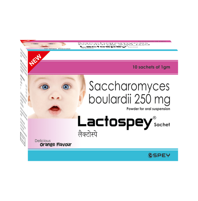 Lactospey Sachet Orange Pack of 3