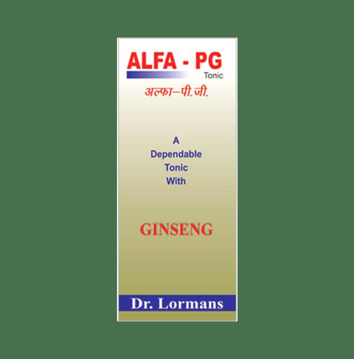 Dr. Lormans Alfa-PG Tonic