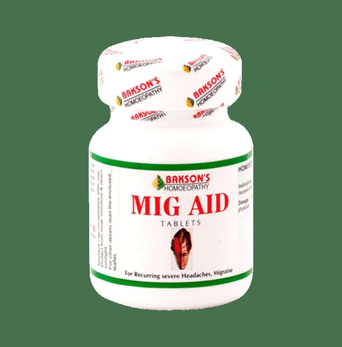 Bakson's Mig Aid Tablet