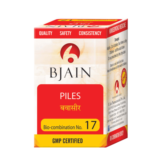 Bjain Bio-Combination No.17 Tablet