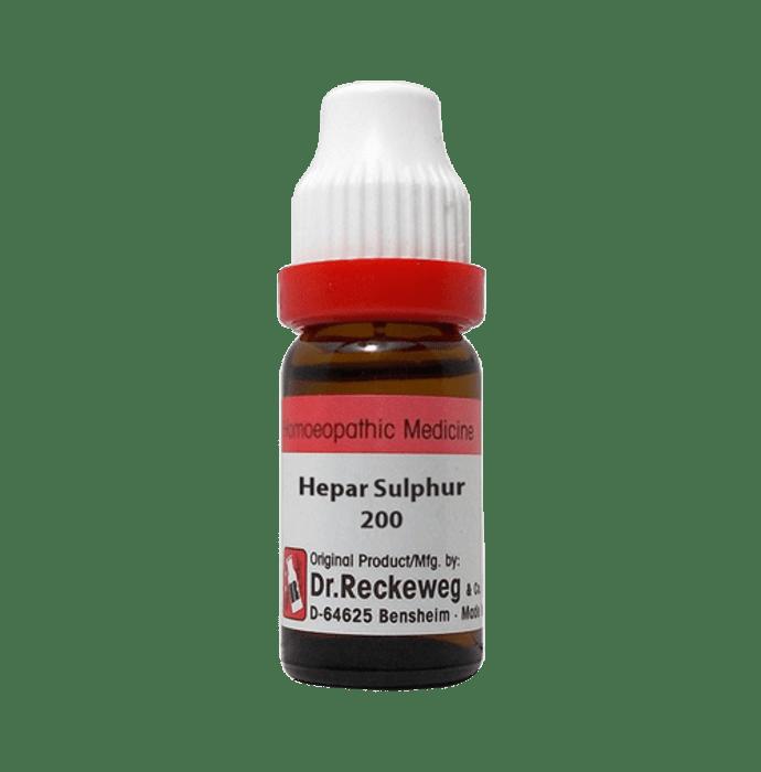 Dr. Reckeweg Hepar Sulphur Dilution 200 CH