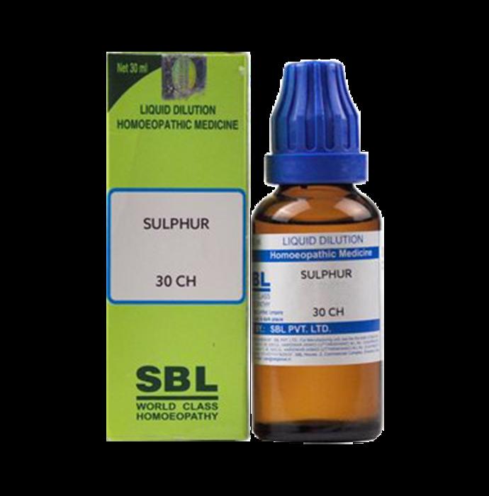 SBL Sulphur Dilution 30 CH