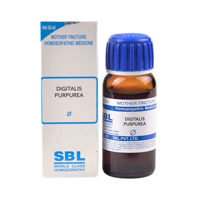 SBL Digitalis Purpurea Mother Tincture Q