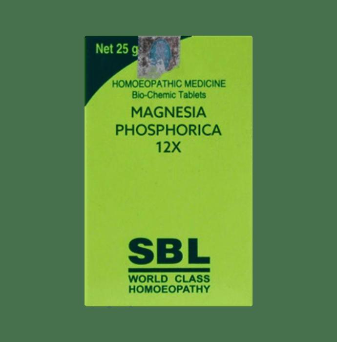 SBL Magnesia Phosphorica Biochemic Tablet 12X