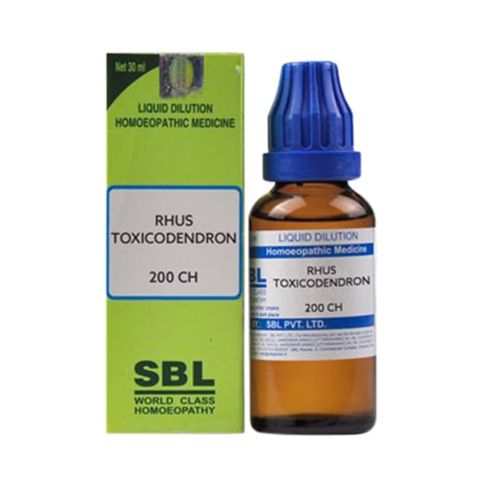 SBL Rhus Toxicodendron Dilution 200 CH