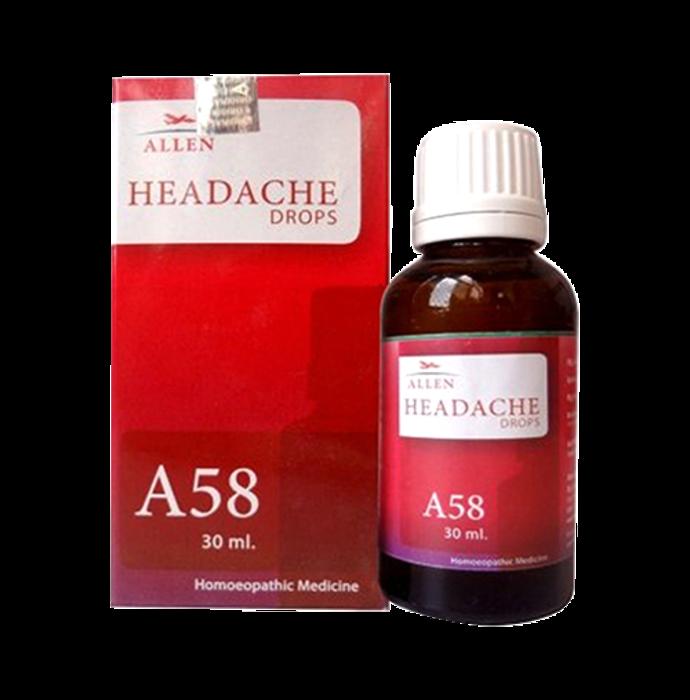 Allen A58 Headache Drop