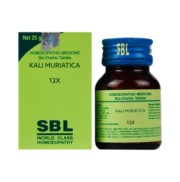 SBL Kali Muriatica Biochemic Tablet 12X