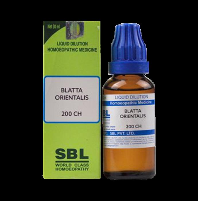 SBL Blatta Orientalis Dilution 200 CH