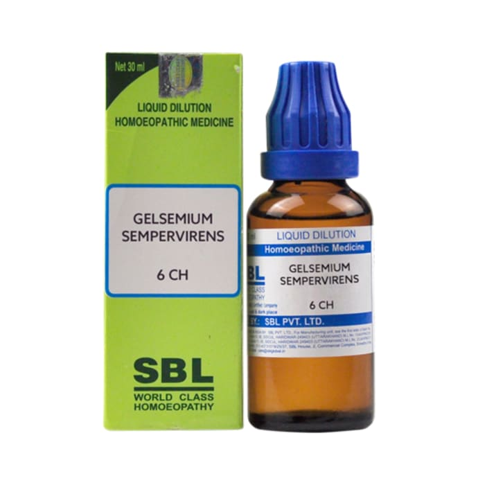 SBL Gelsemium Sempervirens Dilution 6 CH