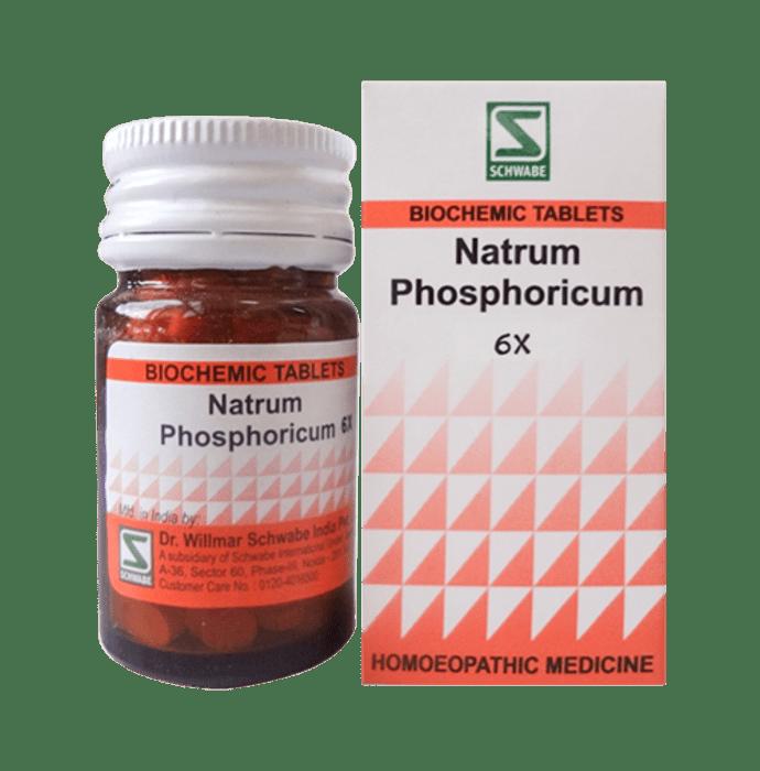 Dr Willmar Schwabe India Natrum Phosphoricum Biochemic Tablet 6X