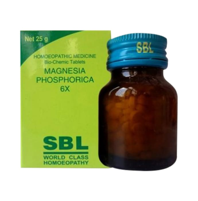 SBL Magnesia Phosphorica Biochemic Tablet 6X