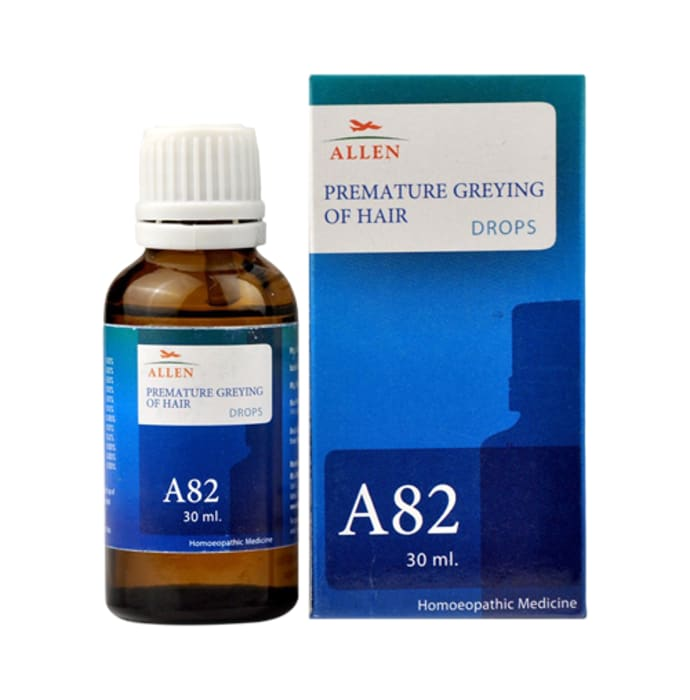 Allen A82 Premature Greying Of Hair Drop